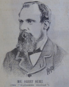 Harry Hems portrait 1882