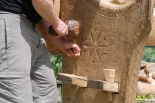 Bench Project Carving Community CIC