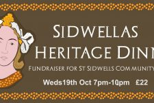 19th October – Sidwella's Heritage Dinner