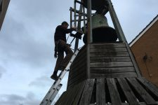 Historic Bell of St Sidwell's Rings Again