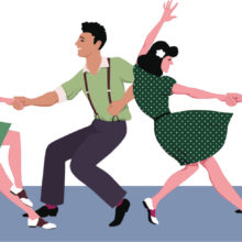 May 6th: St Sidwell's Lindyhop Tea Dance