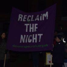Thursday 30th November – Reclaim the Night
