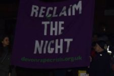 Thursday 30th November – Reclaim the Night