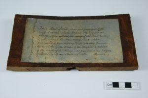 RAMM Oak Beam Fragment Well 3 - Ref. Royal Albert Memorial Museum and Art Gallery, Exeter