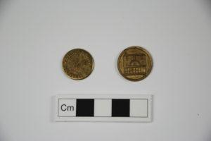 RAMM trading tokens - Ref. Royal Albert Memorial Museum and Art Gallery, Exeter