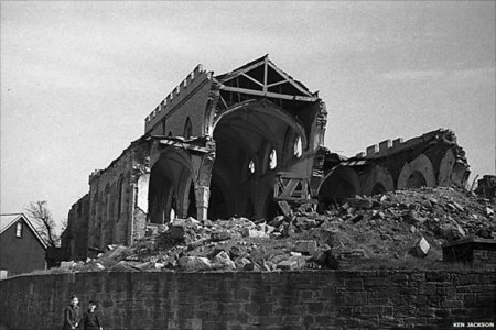 St Sidwell's and The Blitz