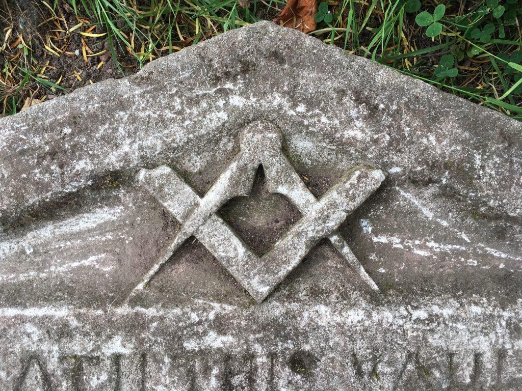 M. John Rippon memorial stone 2