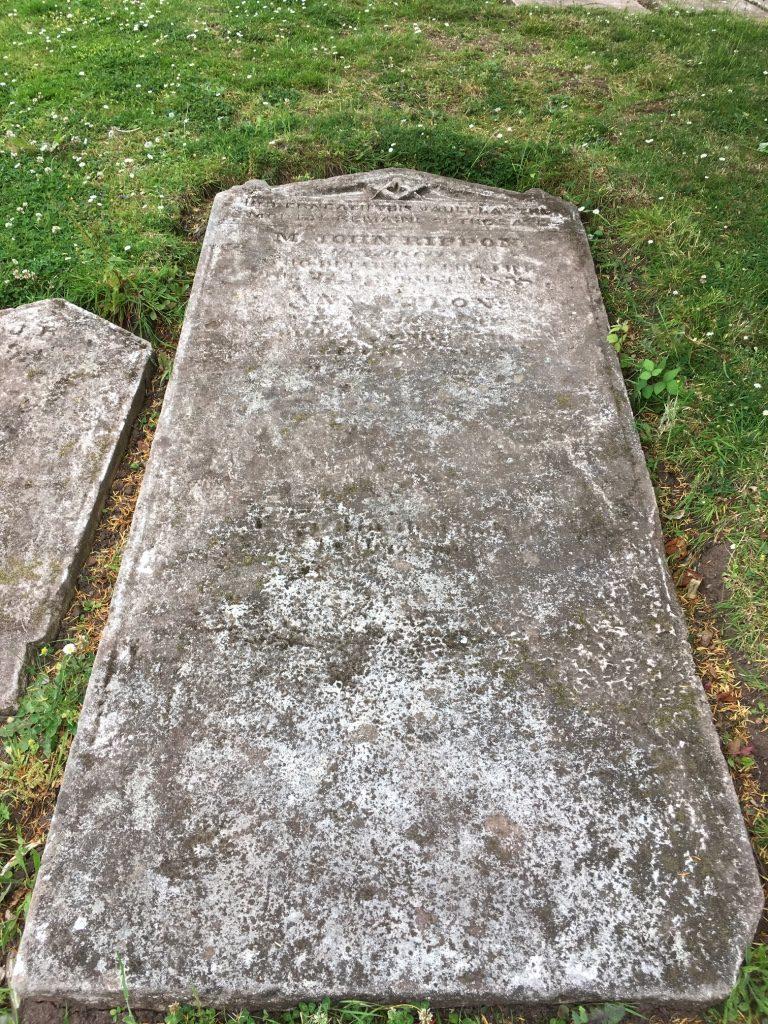 M. John Rippon memorial stone
